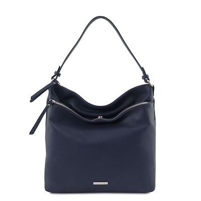 shopper in trendkleur klassiek blauw classic blue